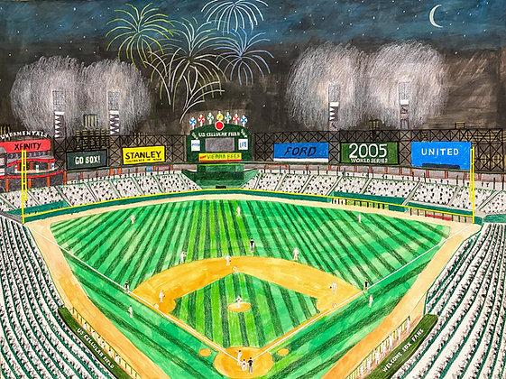 """White Sox Stadium"" by Janno Juguilon"