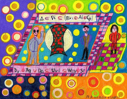 """Computer Dance Floor"" by Bobby Tirelli"