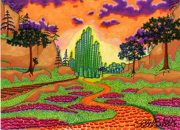 """Emerald City"" by John Behnke"