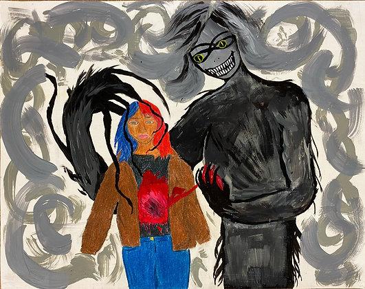 """Darkness"" by Cherylle Booker"