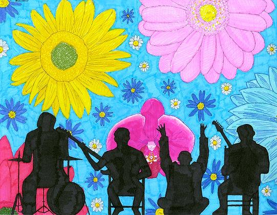 """Flower Power Concert"" by Louis DeMarco"