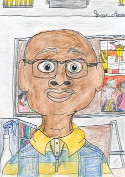 Jason Harris Self Portrait