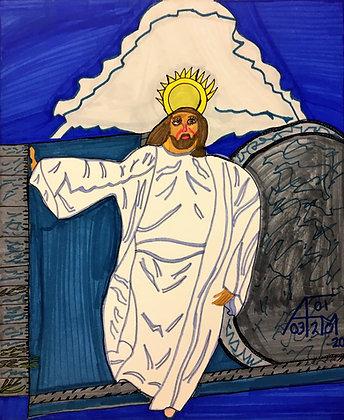 """""""Jesus 2"""" by Allen McNair"""