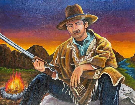 """Self Portrait as a Cowboy"" by Fernando Ramirez"