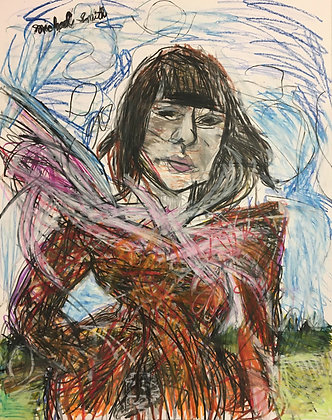 """""""Girl in the Wind"""" by Michael Smith"""