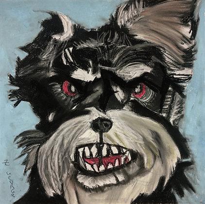 """""""Ruff and Scruff"""" by George Zuniga"""