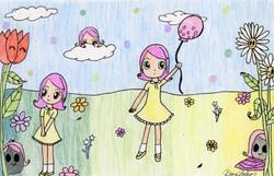 """""""Flower Story"""" by Dana Baker"""