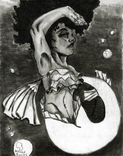 """""""Dancing Mermaid"""" by Alfred Banks"""