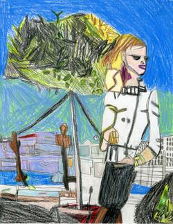 """City Girl"" by George Zuniga"