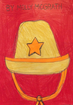 """""""Cowgirl Hat"""" by Molly McGrath"""