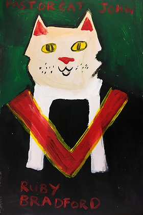 """Pastor Cat"" by Ruby Bradford"