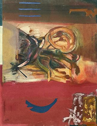 """Untitled (Red)"" by Ken Bortman"