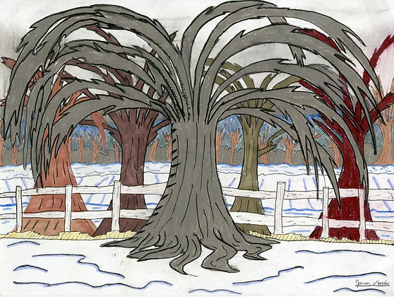 """Winter Trees"" by Jason Harris"