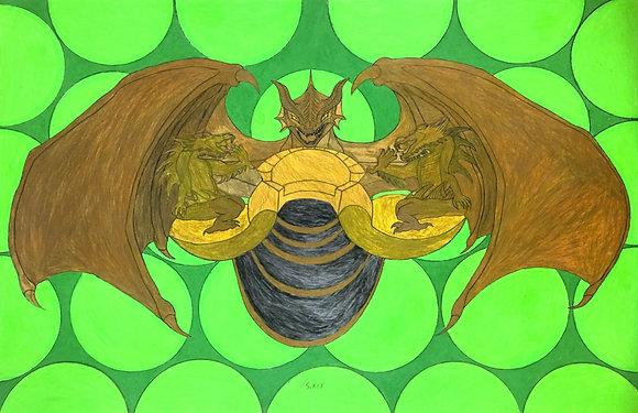 """Kagora's Throne"" by Shandrewick Key"