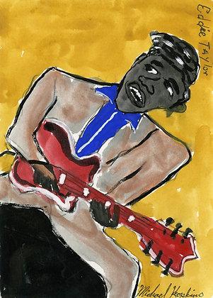 """Eddie Taylor"" by Michael Hopkins"