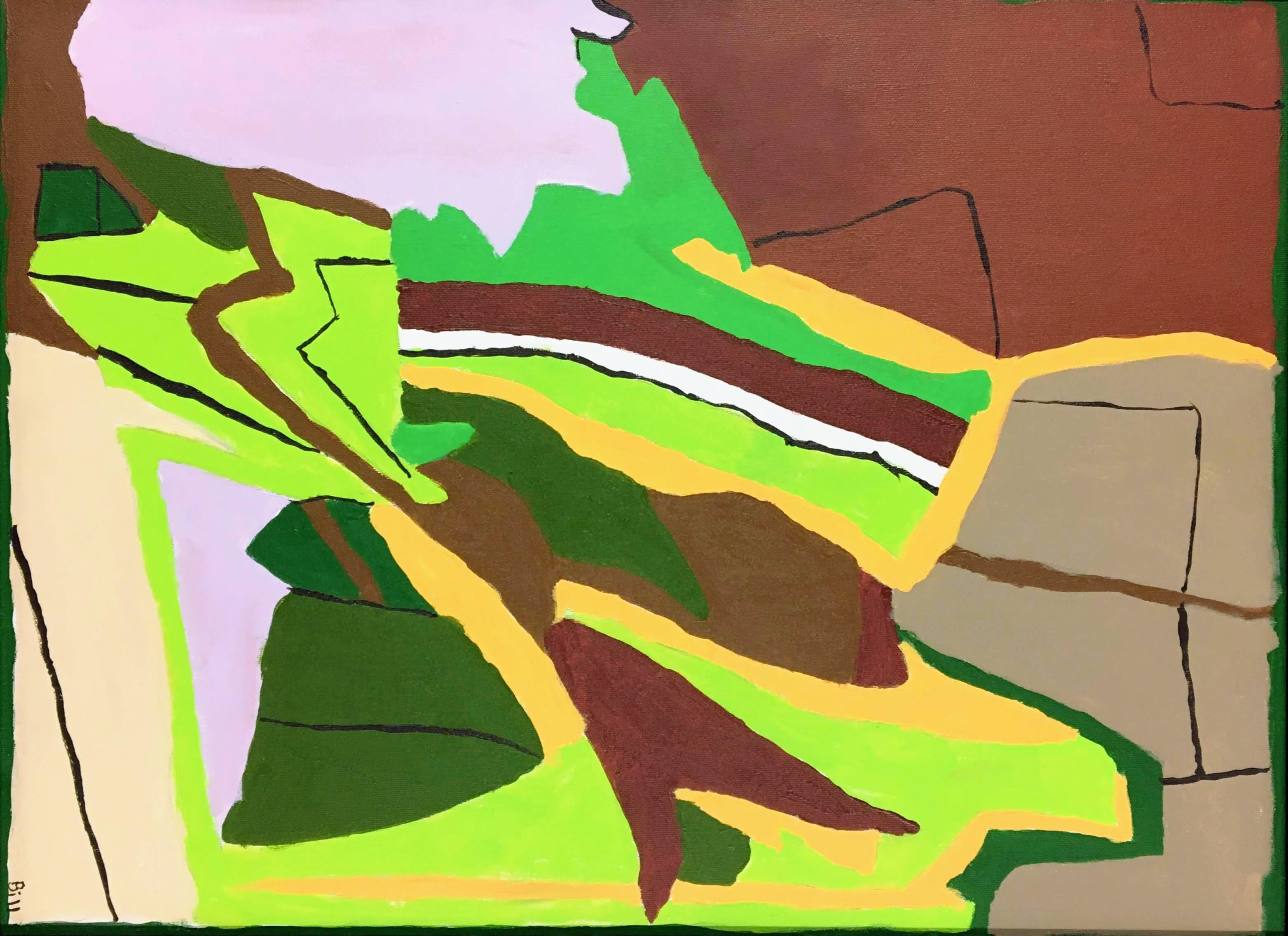 """""""Energized Landscape Through a Broken Window"""" by Bill Douglas"""