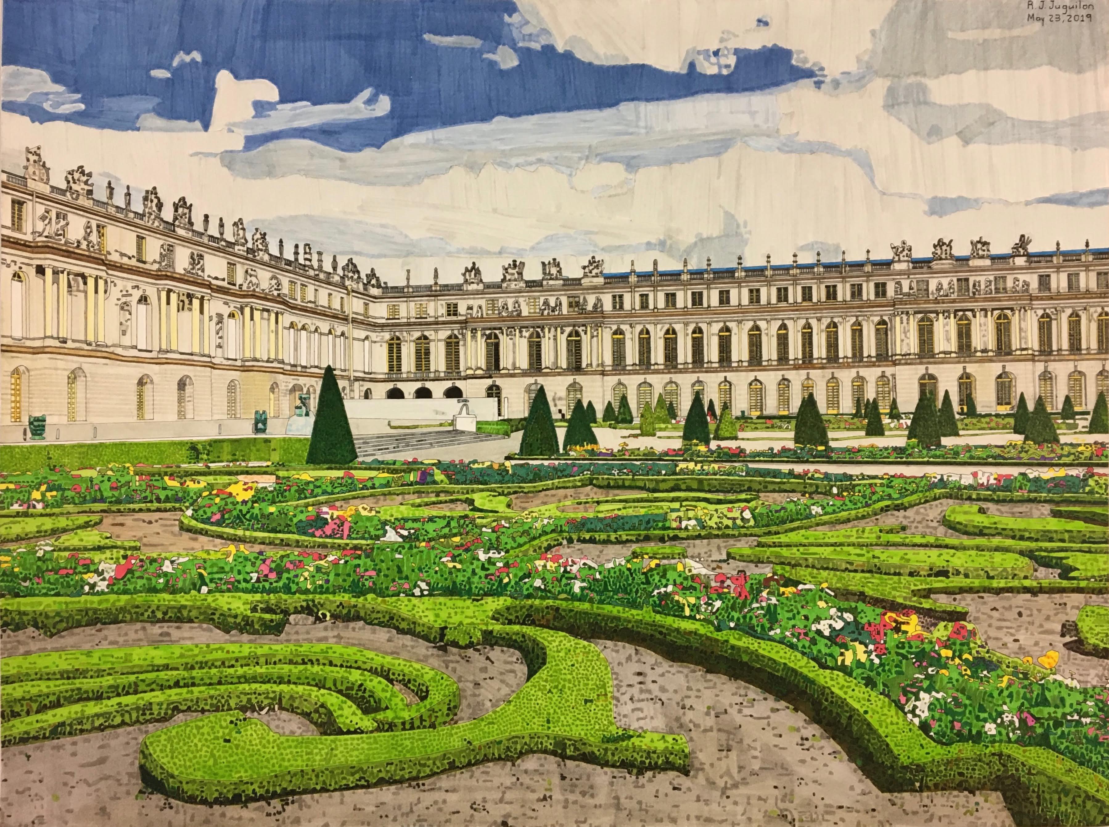 """""""Palace of Versailles"""" by R. J. Juguilon"""