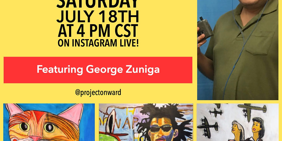 Artists at Home: George Zuniga