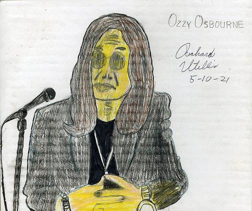 """Ozzy Osbourne"" by Ricky Willis"