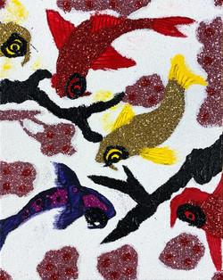 """""""Glitter Koi"""" by Sereno Wilson"""