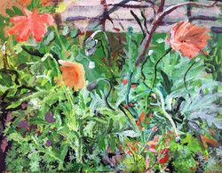 """Meditative Flower Study"" by Luke Shemroske"