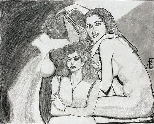 """""""Femme Studies"""" by Allen McNair"""
