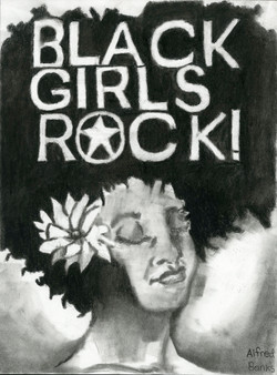 """""""Black Girls Rock"""" by Alfred Banks"""