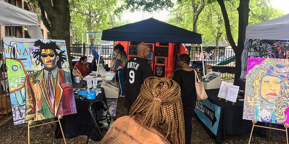 Project Onward at the Hyde Park Community Art Fair