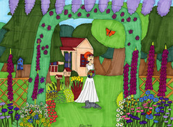 """""""Bride in Spring"""" by Stephon Doby"""