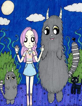 """""""Monsters"""" by Dana Baker"""