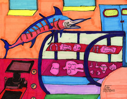 """Fish Market"" by Allen McNair"