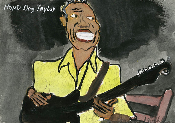 """""""Hound Dog Taylor"""" by Michael Hopkins"""