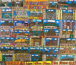 """Landmarks of Africa"" by Adam Hines"