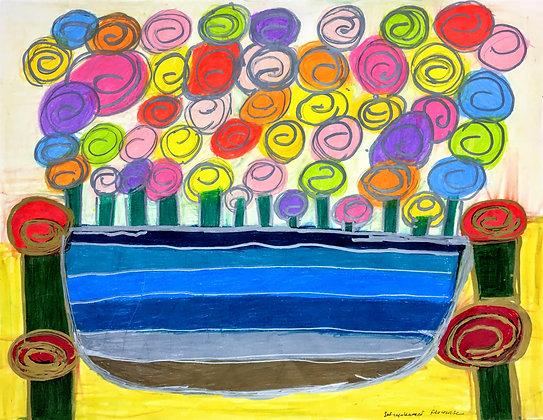 """""""Flower Pot"""" by Safiya Hameed"""