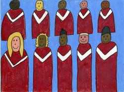 """""""Happy Choir"""" by David Holt"""