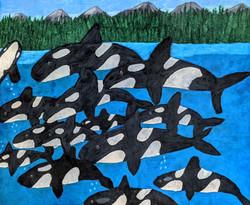 """Orca Fleet"" by Blake Lenoir"
