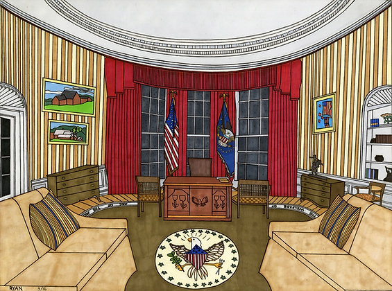 """""""The Oval Office"""" by Tyan Tepich"""