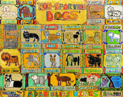 """""""Non Sporting Dogs"""" by Adam Hines"""