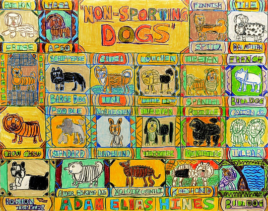 """Non Sporting Dogs"" by Adam Hines"