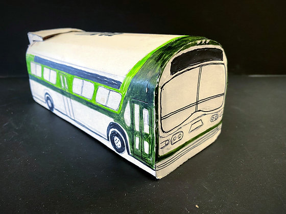 """""""Small Fancy CTA Bus 1"""" by Ricky Willis"""