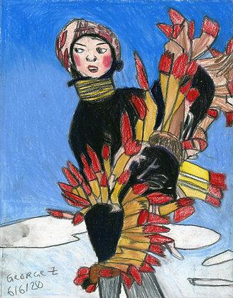 """Feather Piece"" by George Zuniga"