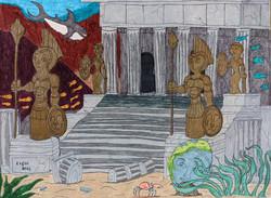 """Ruins of Atlantis"" by Jason Harris"