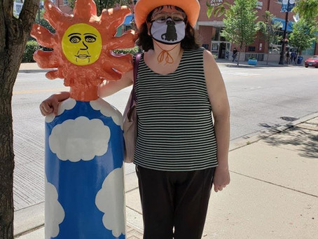 """Molly McGrath's New Piece in """"Hello Helios"""" Outdoor Exhibit"""