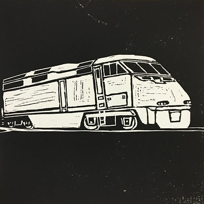 """""""Diesel Locomotive"""" by Andrew Hall"""