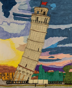 """""""The Leaning Tower of Pisa"""" by Jason Harris"""