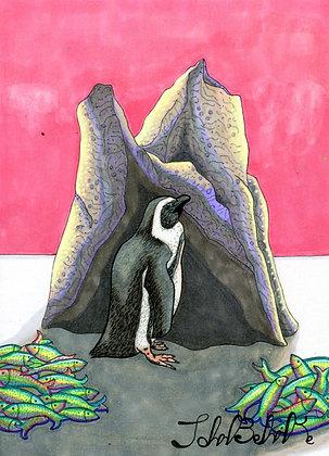 """""""Penguin"""" by John Behnke"""