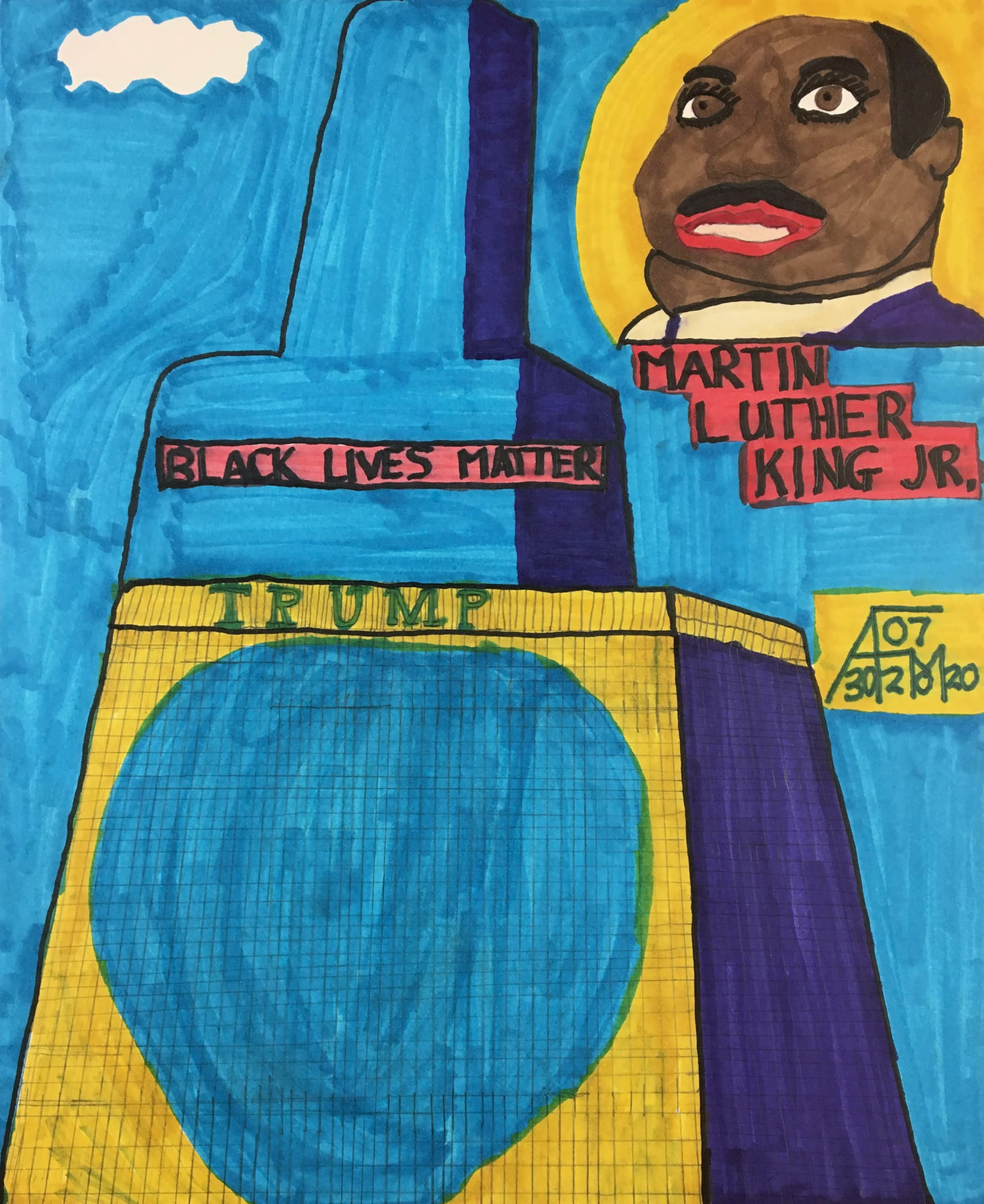 """Black Lives Matter"" by Allen McNair"