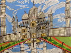"""Taj Mahal"" by Coral Kapel"