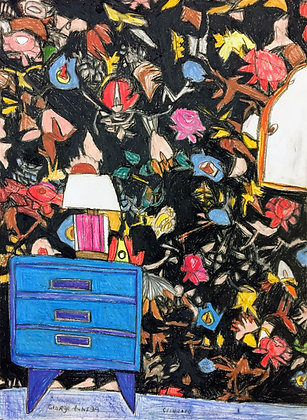 """""""Wallpapered Room"""" by George Zuniga"""