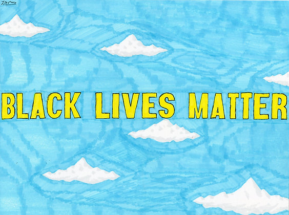 """Black Lives Matter"" by Louis DeMarco"